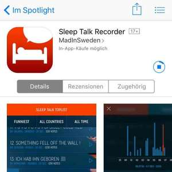 Sleep Talk Record