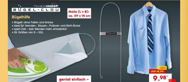 Bügelhilfe Bügel-Clou für Ärmel bei Netto Marken-Discount