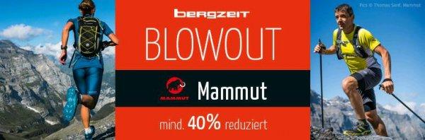 Mindestens 40% auf ausgezeichnete Mammut Artikel bei Bergzeit