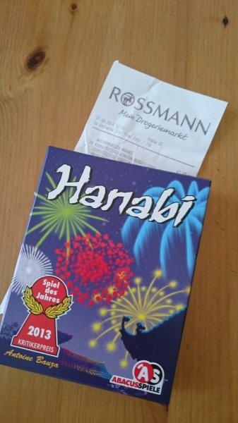 Lokal Berlin: Hanabi Spiel des Jahres 2013 im Rossmann HEP Hönow Einkaufspassagen