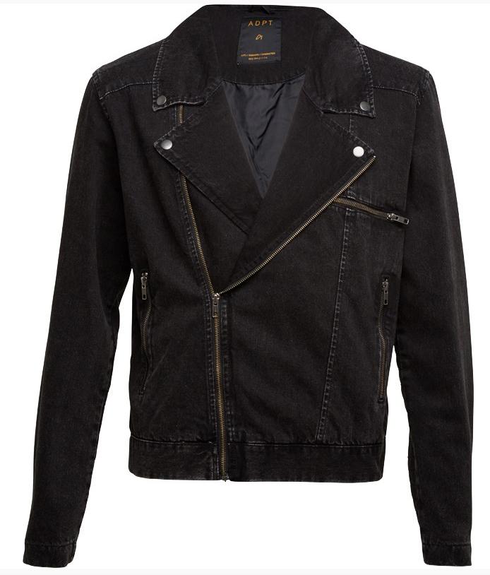 Bikerjacke aus Jeans von ADPT. für 28,44€ inkl. Versand @MandM Direct