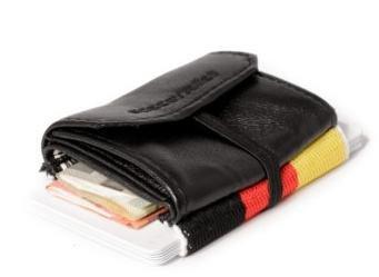 Space Wallet Geldbeutel/Portmonee Idealo-Ersparnis: ca. 10 Prozent