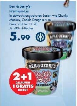 [Karstadt bundesweit] Ben & Jerrys 3,99 € bei Kauf von 3 Stück