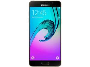 "[Saturn Österreich] Samsung Galaxy A5 (2016) gold [13,22 cm (5,2"") Full-HD Super AMOLED Dis­play, 13MP Ka­me­ra, 1,6 GHz Oc­ta-Co­re CPU für 242,95€"