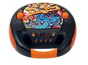 "bigben Boombox ""CD52 Graffiti"" CD/FM/AUX [Expert Klein]"