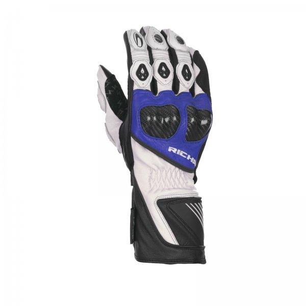 (Hein Gericke) Richa Shock Handschuh blau ab 20.00 Uhr für € 19,99 statt 99,00 € / Deal des Tages