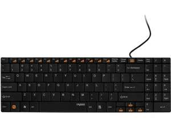 (NBB) Rapoo Tastatur N7200 kabelgebundenes Keyboard, QWERTZ-Layout  für € 12,98 inkl VSK