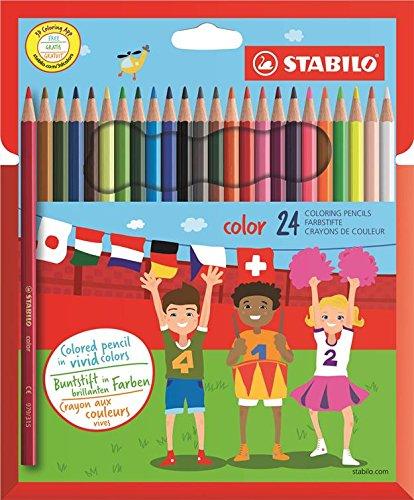 Passend zum Schulstart oder einfach nur so ! Stabilo Buntstifte für 2,39€ als Amazon Plus Angebot !