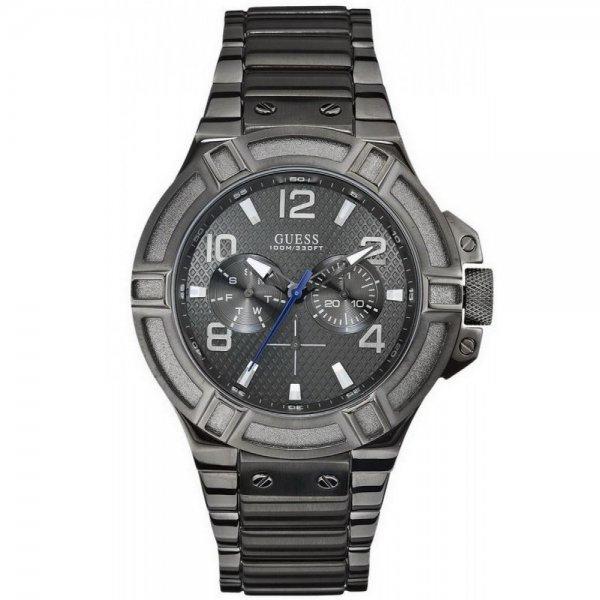(Amazon) Guess Herren-Armbanduhr Analog Quarz Edelstahl W0218G1 für € 94,94