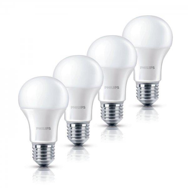 4er Pack Philips LED Lampe 6 W ersetzt 40W E27 - 9,99 inkl Versand !
