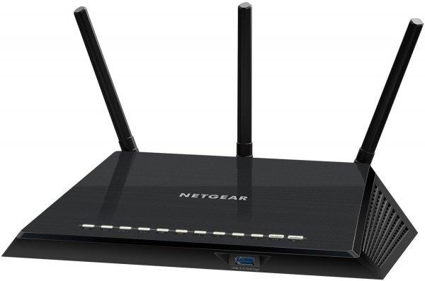 [Computeruniverse] Netgear AC1750 Smart WLAN Router WPA2-Verschlüsselung WLAN a, b, g, n, ac 1750 Mbit/s 5x GB-LAN, 1x USB2.0, 1x USB3.0