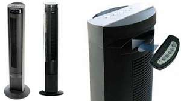 Honeywell HO-5500RE Turmventilator oszillierend silber/schwarz