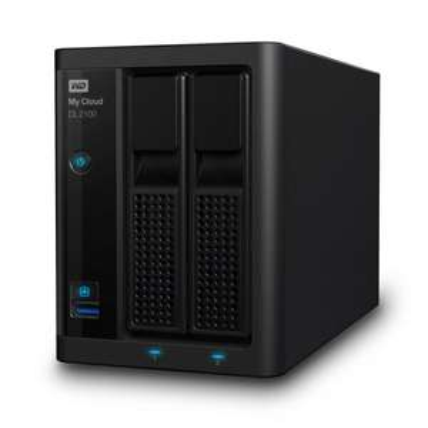 WD My Cloud DL 2100 mit 4TB WD Red