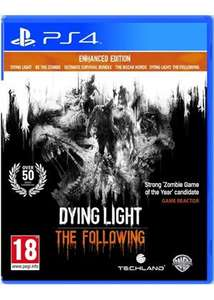 Dying Light: The Following - Enhanced Edition (PS4 / XBO) für 23,92€ [Base]