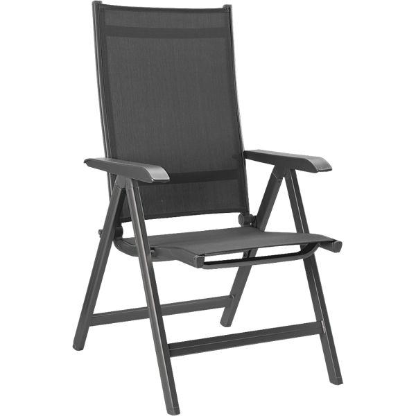 [Plus.de] Kettler Basic Plus Stuhl (Preis gilt bei Kauf von mindestens zwei Stück) Farben: Anthrazit-Silber und Anthrazit-Anthrazit