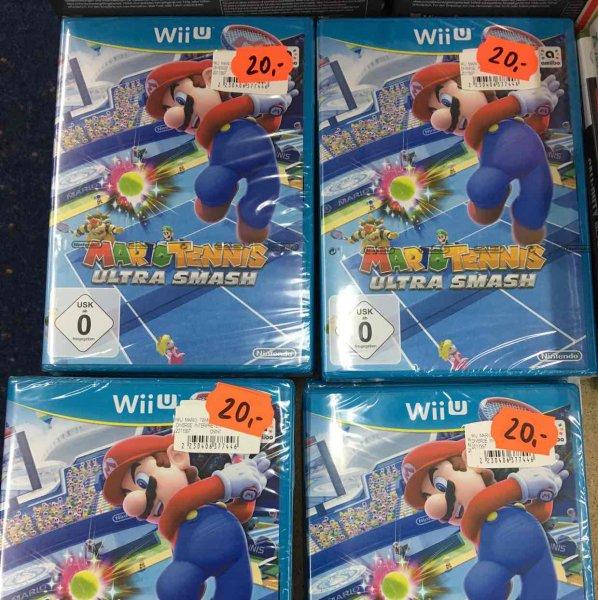 Lokal Saturn Witten WiiU Mario Tennis Ultra Smash