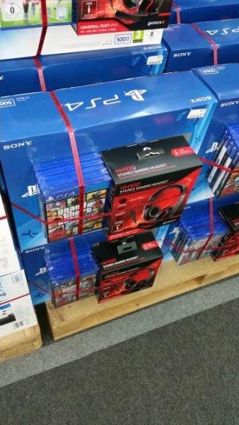 Playstation 4 500Gb mit 5 Spiele und Headset (Media Markt Essen)