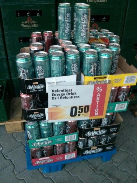 [lokal Höchst i.Odw.] Rewe: Relentless Energy-Drink für 0,50€