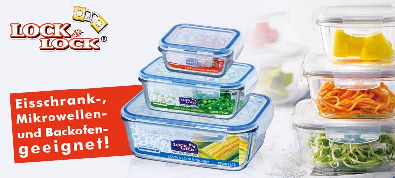 Lock & Lock Glas Boxen verschiedene Größen je 1,19 Euro bei Metro