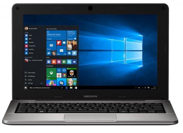 """(ebay wow) MEDION AKOYA S2218 MD 99590 Notebook 29,5cm/11,6"""" Intel 64GB 2GB Windows 10 B-Ware für € 159,99"""