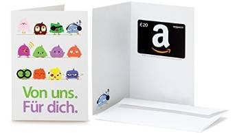 (Amazon.de) Kauf von Amazon.de Geschenkgutscheinen im Wert von 30€,  7€ Aktionsgutschein Gratis