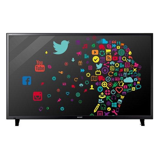 Sharp, Full HD LED TV 121cm (48 Zoll), LC48CFF6002E, Triple Tuner, SmartTV 333€