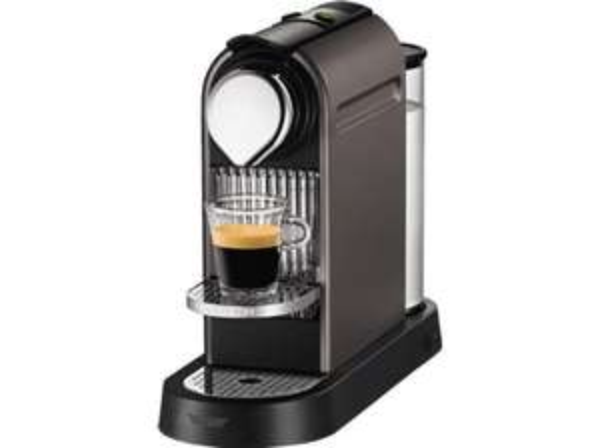 TURMIX TX 170 Citiz Titan Nespresso Maschine, 19 Bar Pumpendruck, Espresso/Lungo Direktwahlfunktion, Abschaltautomatik für 63,99€ [72,99€ mit Versand nach DE] @Media Markt AT