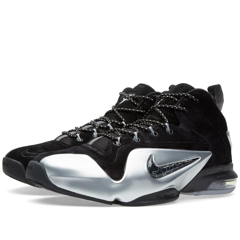 Nike Basketballschuh Zoom Penny VI in Black / Metallic Silver für 66 € in 42,5 bis 46 [5Pointz]