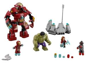 LEGO Marvel Super Heroes 76031 Hulkbuster bei [amazon.co.uk] für 25,53 € statt 34,99 €