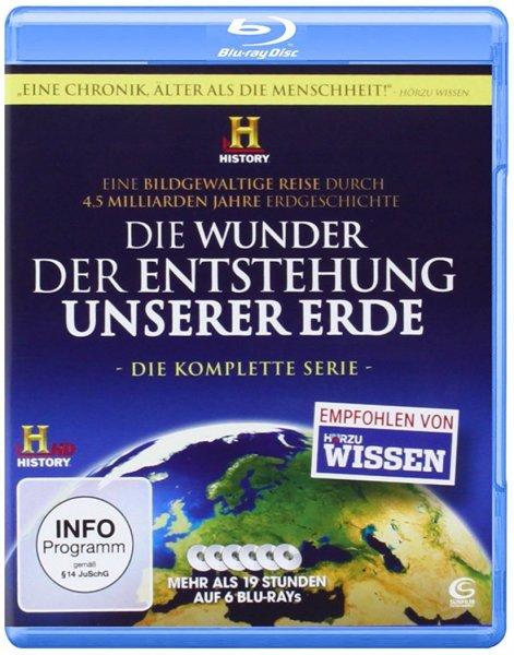 """""""Die Wunder der Entstehung unserer Erde"""" - Komplettbox (6 Blurays) für 14,97€ & """"Unser Universum"""" - Komplettbox (Staffel 1-6) (17 Blurays) für 34,97€ [Amazon]"""