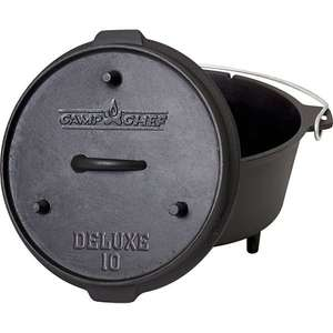 Camp Chef Deluxe Dutch Oven DO-10 (Deal des Tages bei Plus.de) 46,95€
