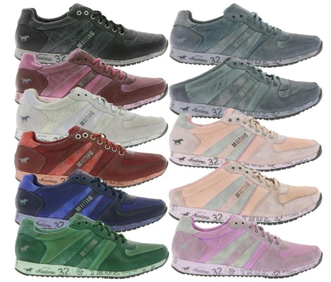 [outlet46] MUSTANG Sneaker für Damen und Herren in verschiedenen Modellen und Farben für 17,46€
