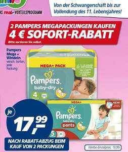 Pampers beim Real