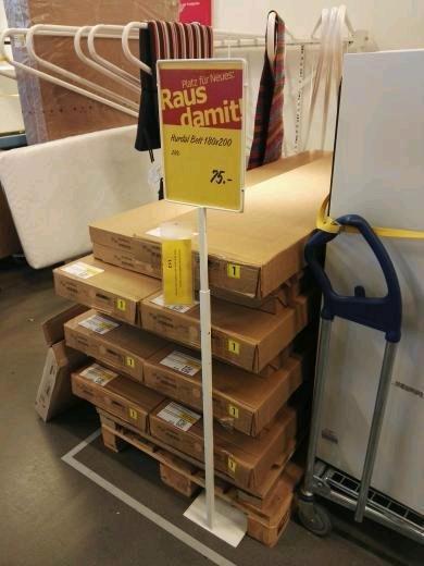 [Ikea Altona] Bett Hurdal 75€ statts 289€