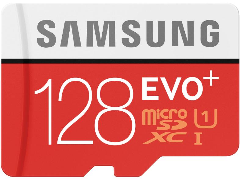 Samsung EVO Plus microSDXC Class 10 / U1 128GB inkl. Adapter @mediamarkt.de - Offline in Berlin für 25€