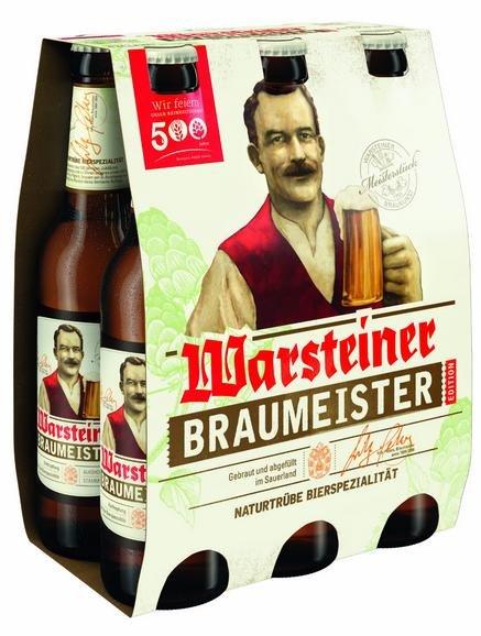 [Lokal in Warstein bei Sauerlandgetränke] Warsteiner Braumeister sixpack Umsonst (nur pfand)