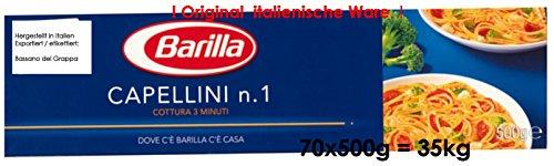 35kg Barilla Nudeln für 20,94 Euro