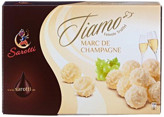 [Amazon WHD & Plus-Produkt]  Sarotti Tiamo Champagner-Trüffel, 1er Pack (1x 125 g) [48x verfügbar]