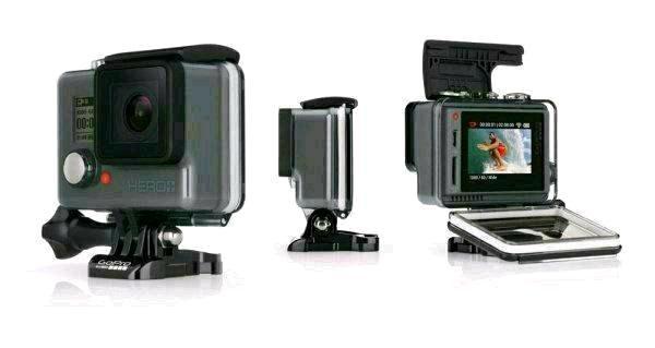 GoPro Hero + LCD (Saturn Super Sunday)