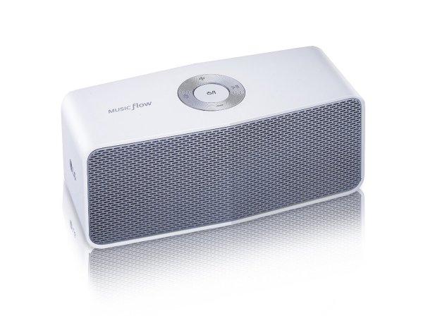 [Amazon] LG P5 Bluetooth Lautsprecher in weiß - dual Stereo play möglich - für 30,79 €, PVG 45,50 €