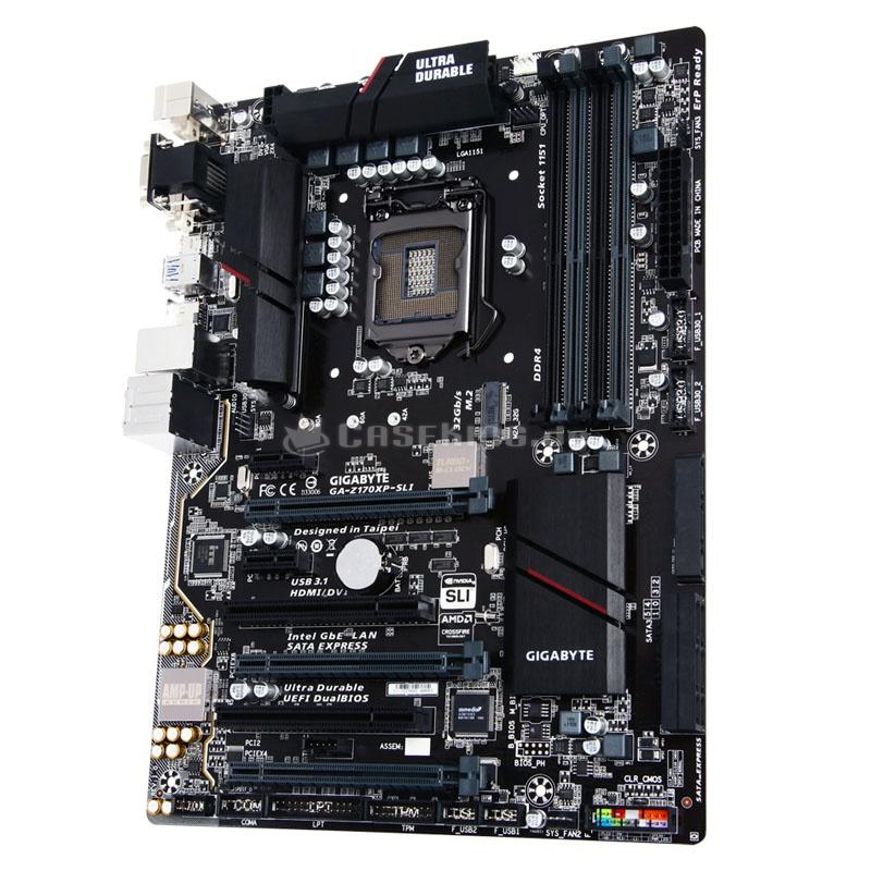 Intel Mainboard Gigabyte Z170XP-SLI, - Sockel 1151, 119,90 € + 3,99 € Versand