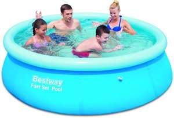 Bestway Fast Set Pool, blau, (244 x 66 cm) 3 lagiges Material für 17,99€ @Amazon.de Blitzangebote