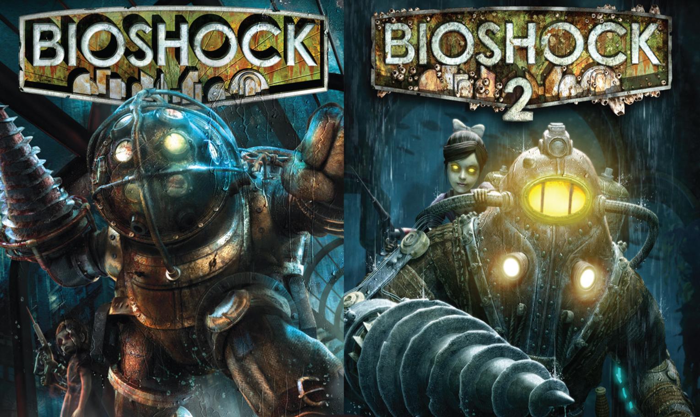 Bioshock 1 + 2 (Steam) + kostenloses Grafik Upgrade [MMOGA]