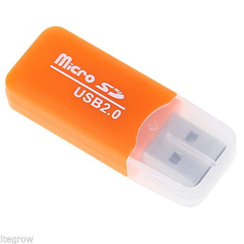 [ebay] 4x USB 2.0 MicroSD-Card Reader, Versand aus Deutschland, für 1€