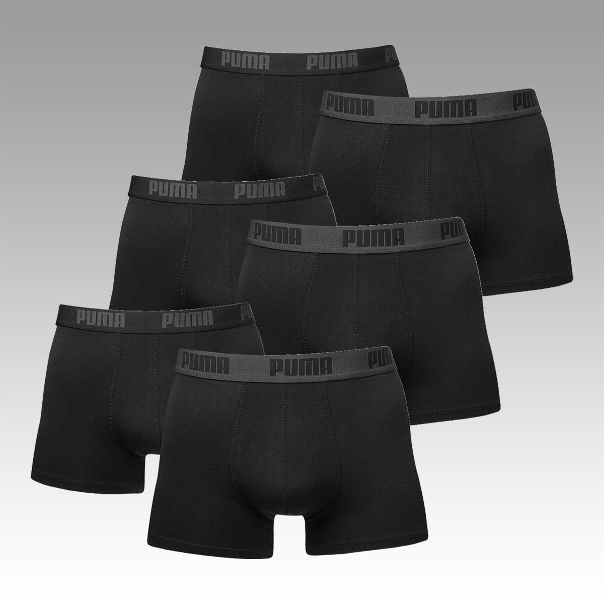 6er PUMA Basic Boxershorts für 29,95 € - 8 verschiedene Farbkombi [allstar-sport]