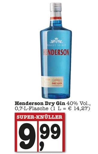 Henderson Gin 9,99 €