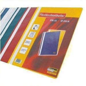 10er Pack Schnellhefter A4 von Idena bei Amazon