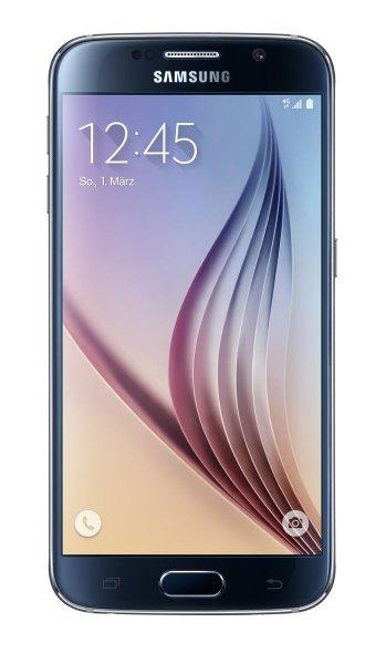 [EBAY] Samsung G920F GALAXY S6 32GB Schwarz LTE 12,92 cm (5,1 Zoll) 16 MPixel NEU OVP