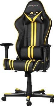 DXRacer Racing RF9 Gaming Stuhl, Kunstleder - schwarz/gelb
