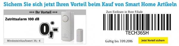 [Conrad] Beigabe: Tür-/Fensteralarm 100 dB renkforce 1243798 CODE: TECH36SH